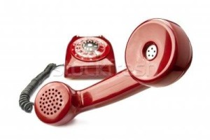 A threatening red phone